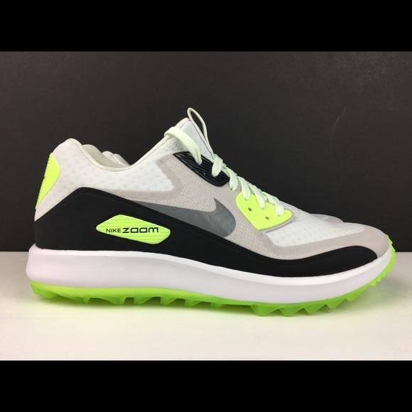 482e44b623b Nike Air Zoom 90 IT Golf Shoes White Grey Mens New